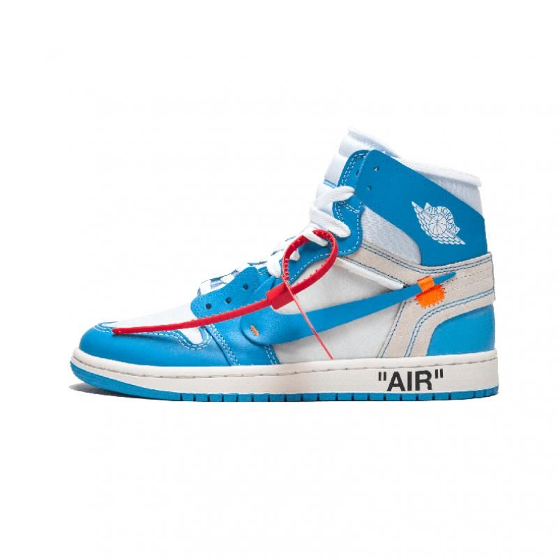 Og Off White X Jordan 1 Unc Blue Aq0818 148 Air Jordans Nike