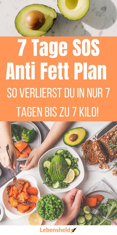 7 Tage Anti-Fett-Plan - Lebensheld in 2021 | Diätessen