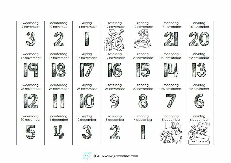 aftelkalender sinterklaas 2016 aftelkalender