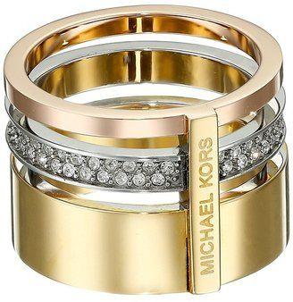 Michael Kors Barrel Ring - ShopStyle