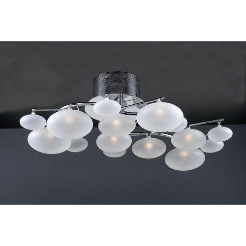 plc lighting comolus eight light polished chrome close to ceiling