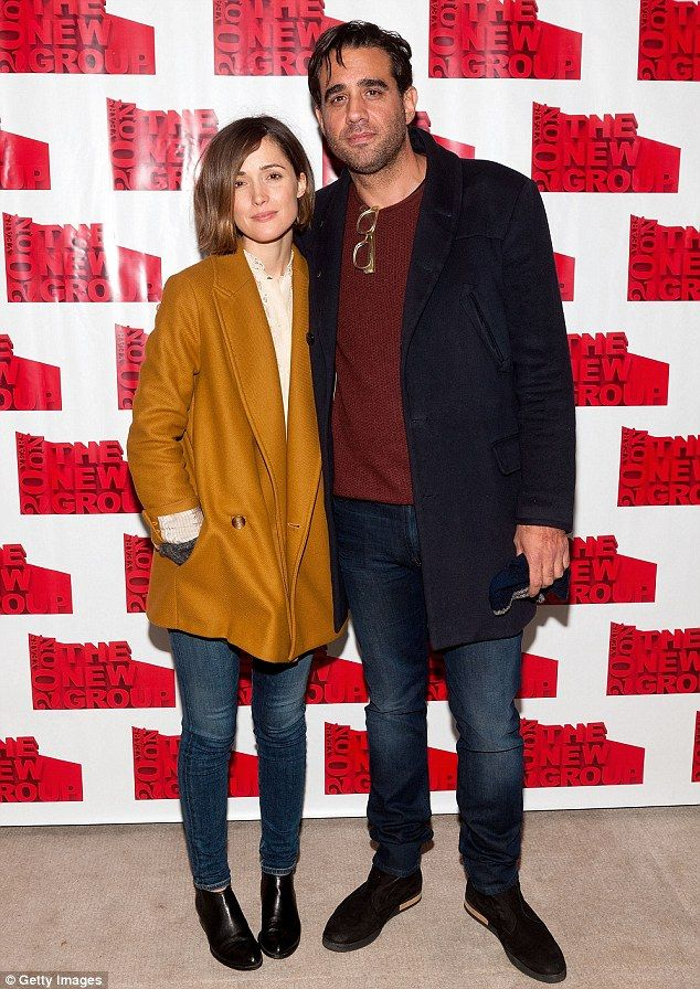 ee224f5275667 Hipsters  On Thursday night actors Rose Byrne and Bobby Cannavale looked  stylish as they arrived at the opening night of Sticks And Bones In New York