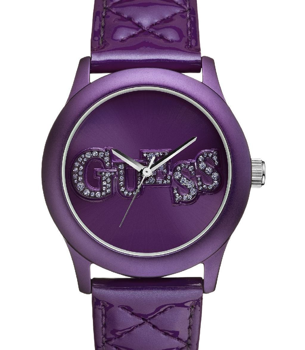 #Purple #watch from #Guess