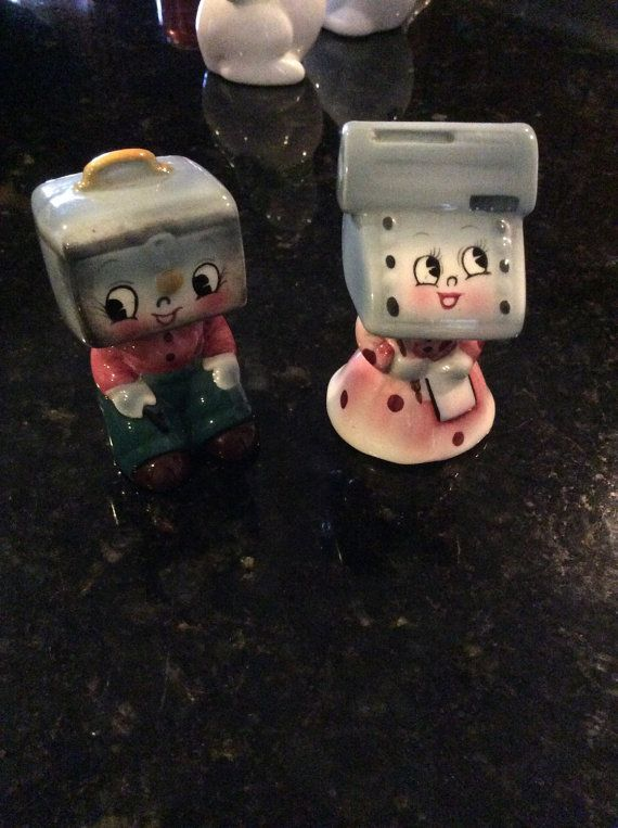 PY adding machine and cash box salt pepper by ShakeAndPassTheSalt