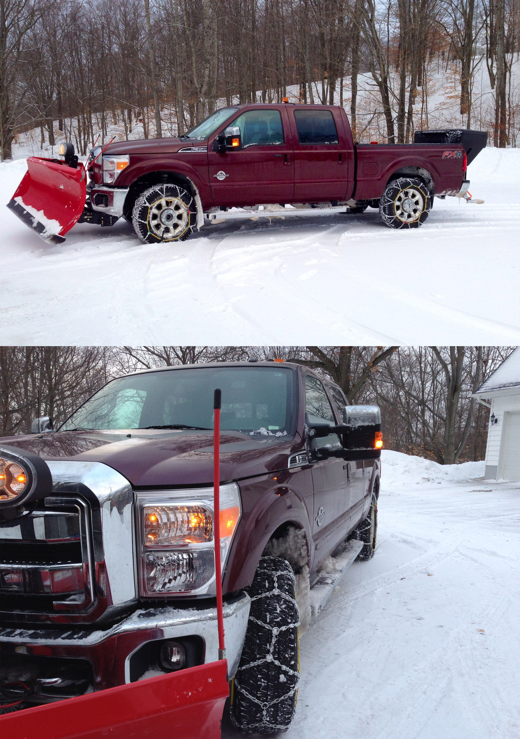 Need to prepare your ford f 350 for the snow with some rad accessories