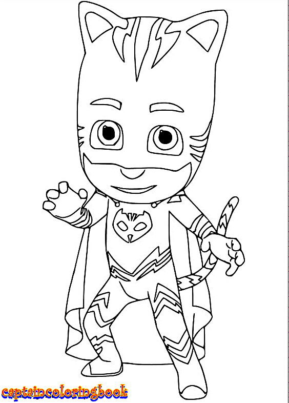 Disney PJ Masks coloring pages Coloring Pages Pj masks