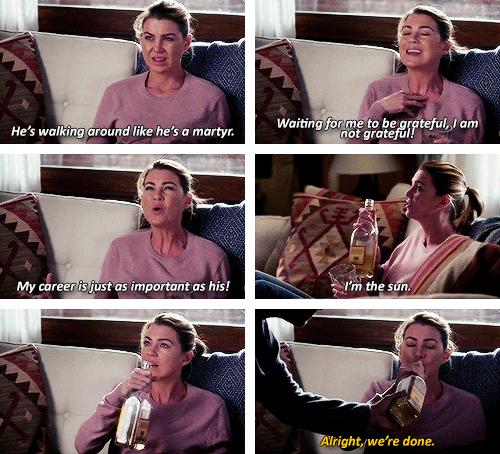 Grey's Anatomy. Meredith.11x03