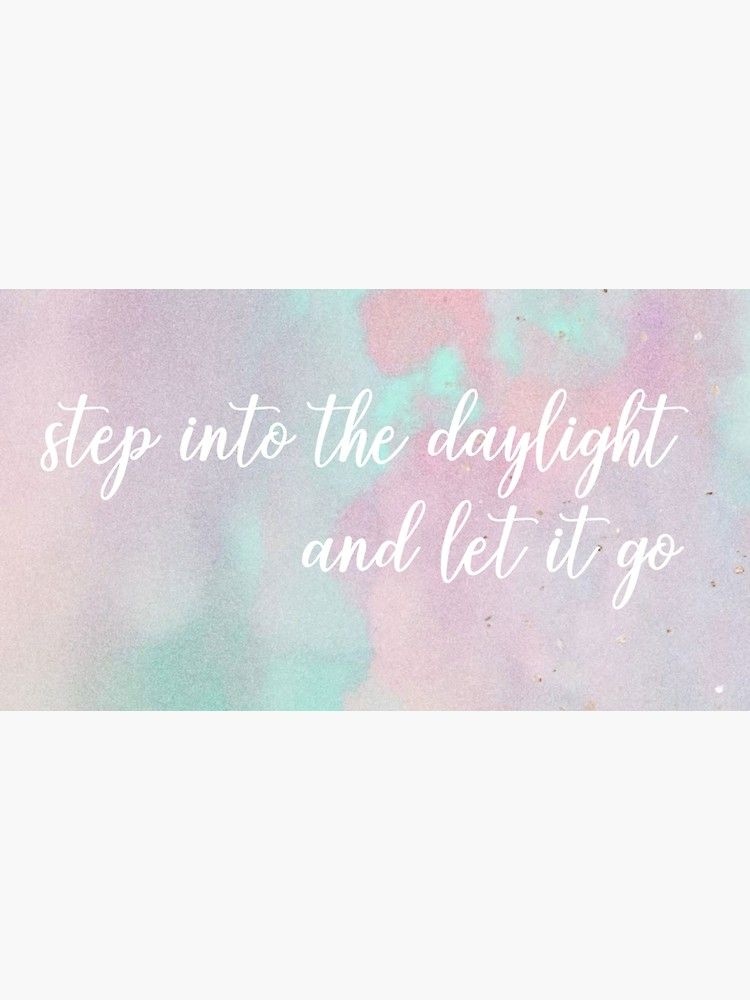 Step Into The Daylight And Let It Go Taylor Swift Sticker By Emilyhamer Red Aff Affiliate Taylor Daylight Step In 2020 Let It Be Hipster Fall Letting Go