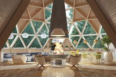 Geodesic house on Behance