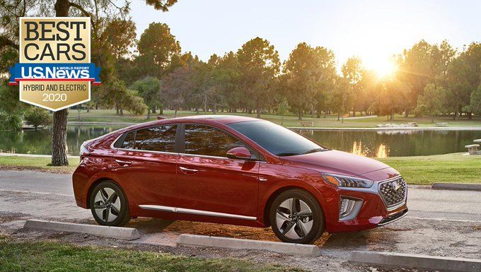 We Are Proud To Announce The Hyundai Ioniq Hybrid Was Named 2020 Best Hybrid Car By U S News World Report In 2020 Best Hybrid Cars Hybrid Car New World
