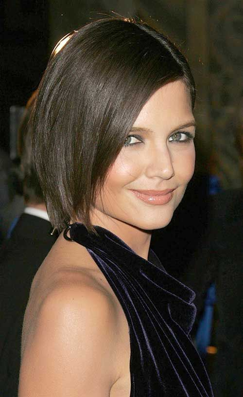 Katie Holmes Bob Cut Check More At Bestenhaarideen Com