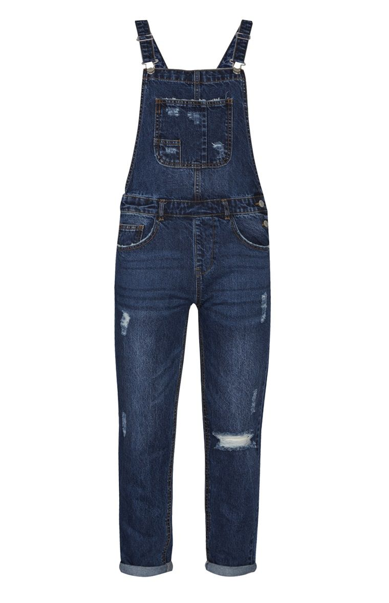 f7e24cf4 Primark - Blue Denim Dungaree | Penny's in 2019 | Denim dungarees ...