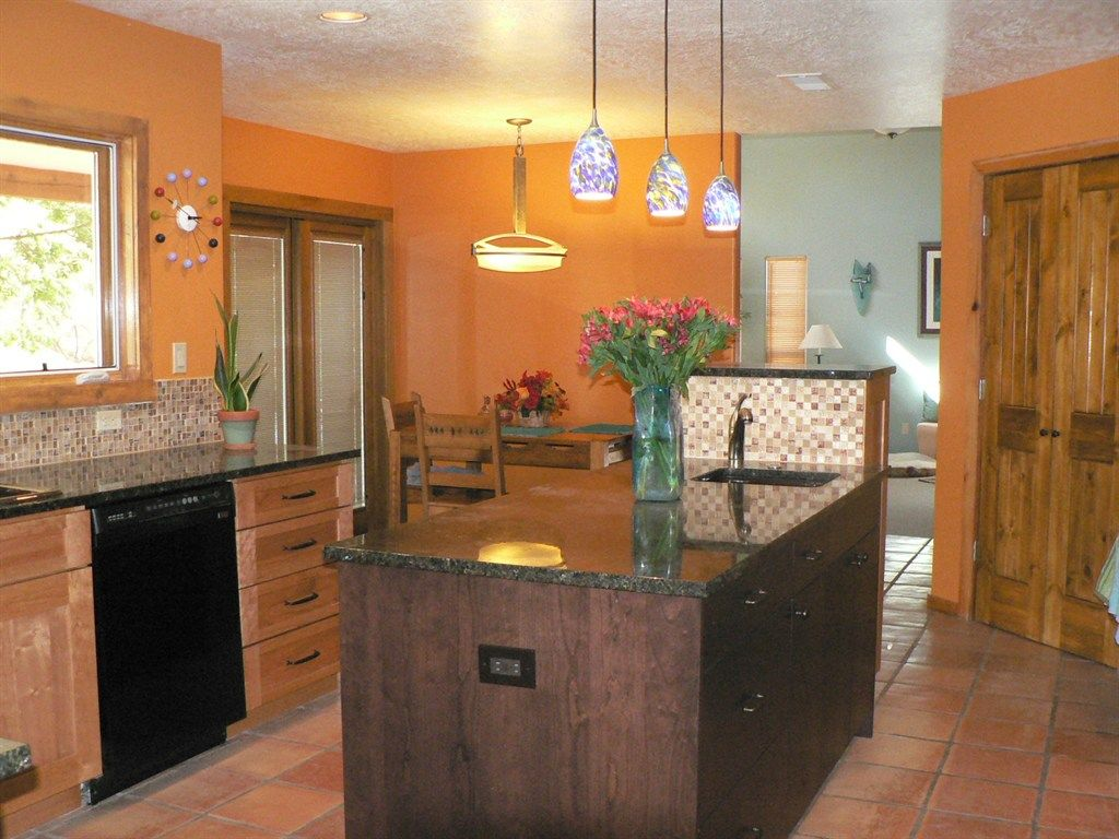 Light Orange Kitchen Walls design ideas, : handsome picture of small l shape kitchen