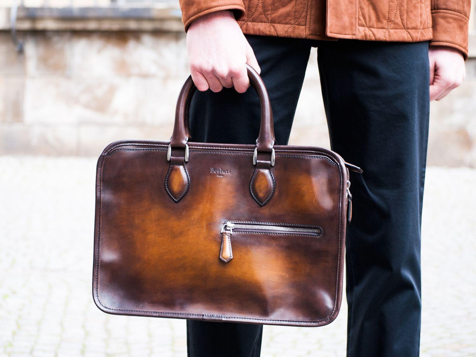 Bag To Work Berluti Menswear Look Botd