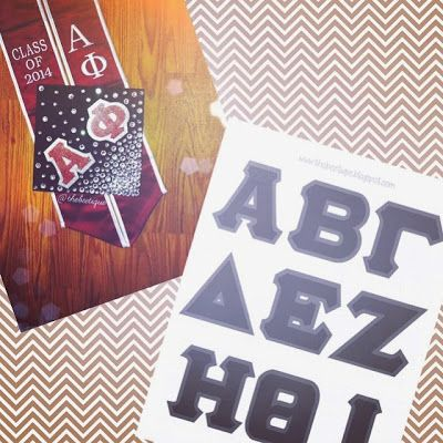 picture relating to Printable Greek Letter Stencils for Shirts referred to as Free of charge Sorority Frat Greek Letter Printable Stencil by way of