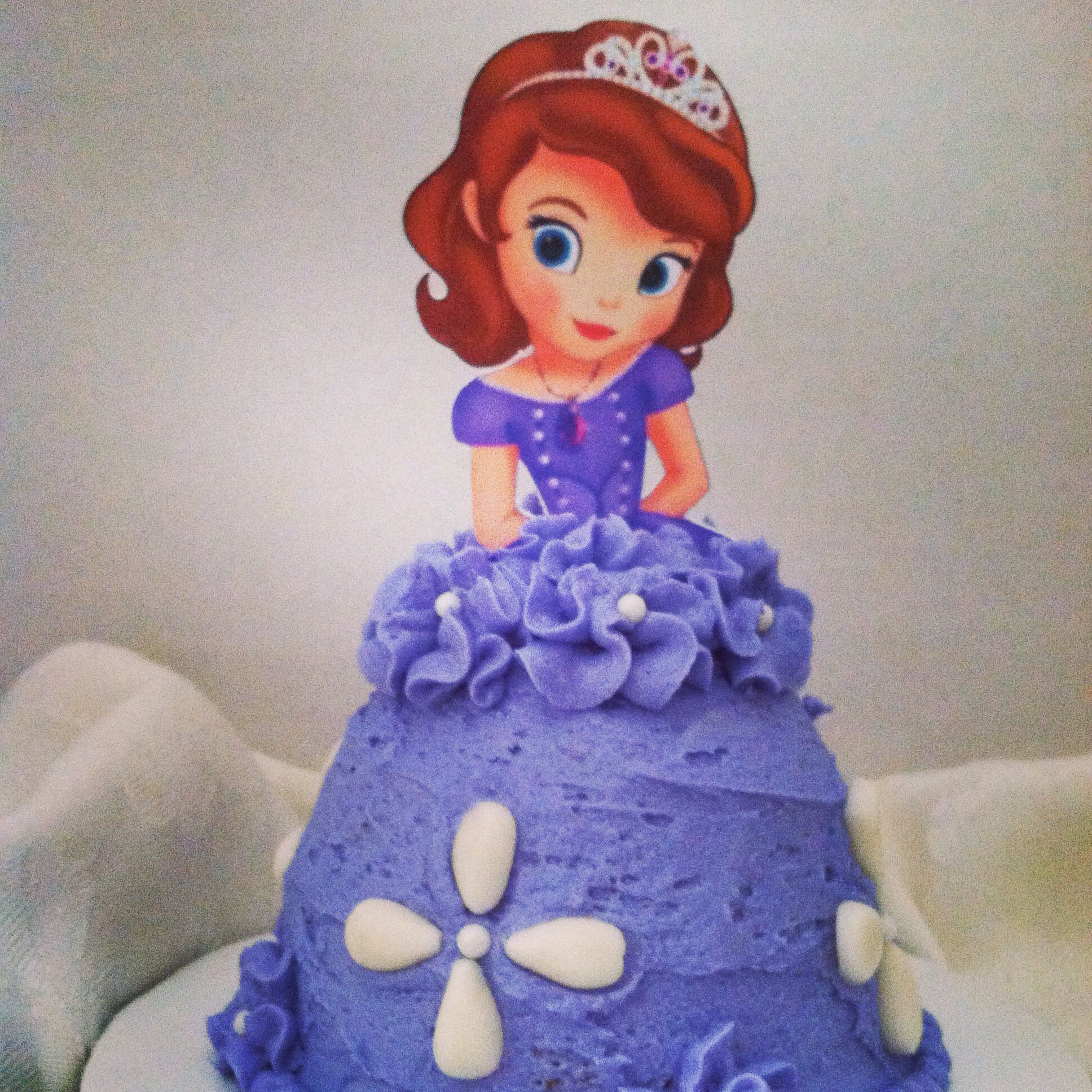 Sofia the First Doll Cake Princess Doll Cakes Pinterest