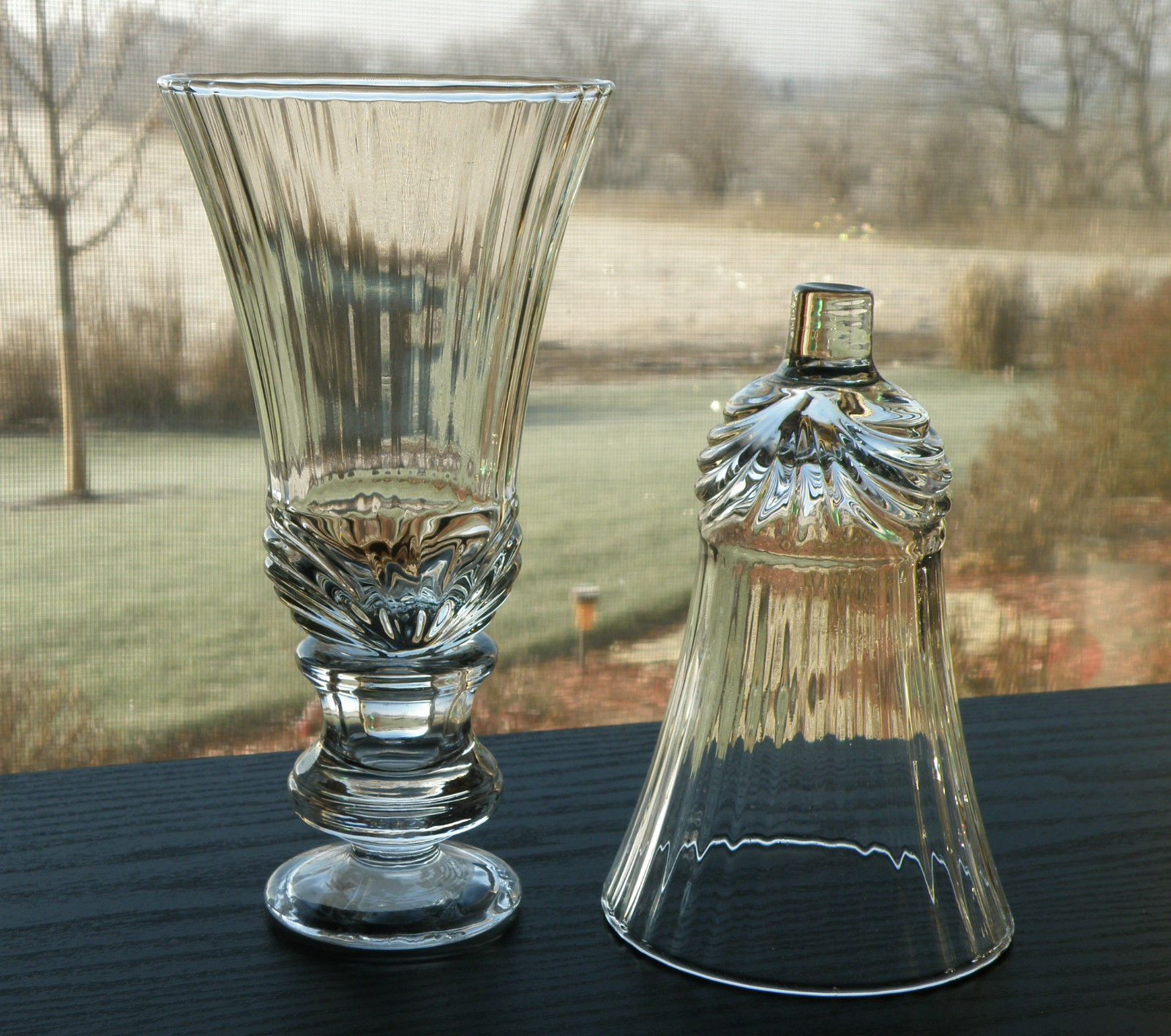 2 Home Interiors Homco Renaissance Glass Votive Candle Holders Sconce Cups  | EBay