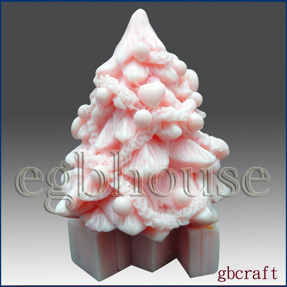 3d Silicone Soap Candle Mold Decorative Christmas Tree Buy From Original Maker Candle Molds Silicone Candle Molds Candles