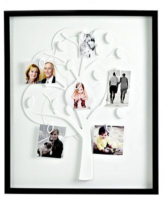Umbra Picture Frame, Family Tree Black - Picture Frames - For The ...