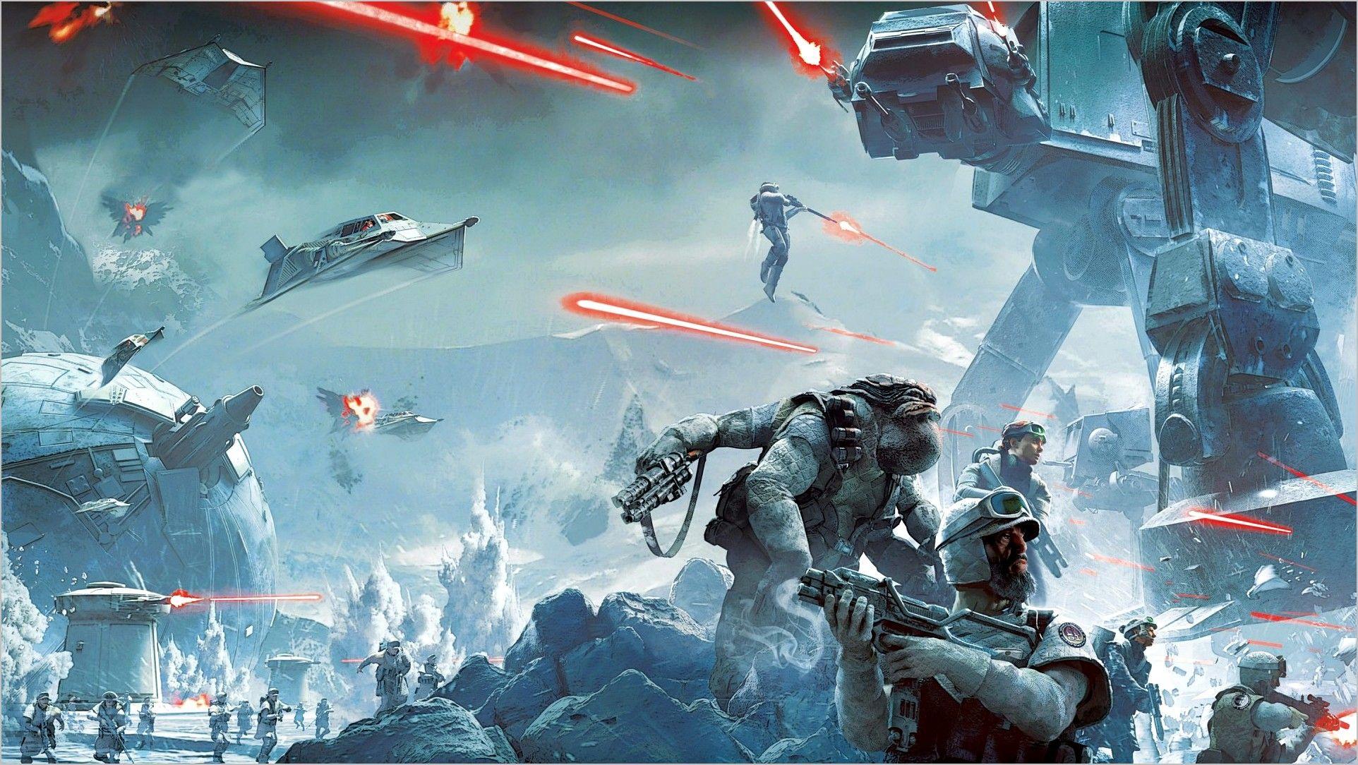 Pc Wallpaper 4k 1920 215 1080 Star Wars In 2020 Star Wars Wallpaper Star Wars Battlefront Star Wars Galaxies