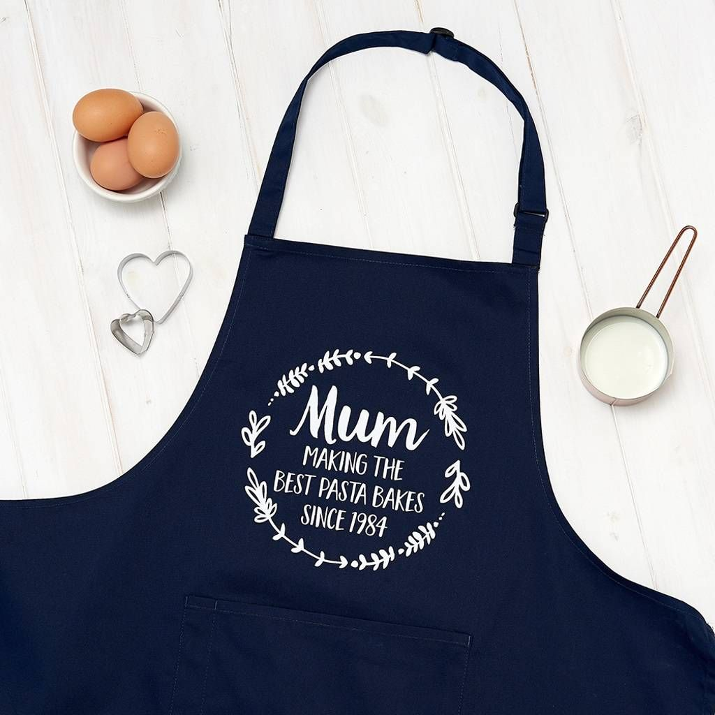 Personalised Mum The Best Cooking Apron