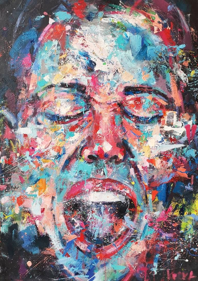Scream Portrait Painting | Painting, Art, Portrait