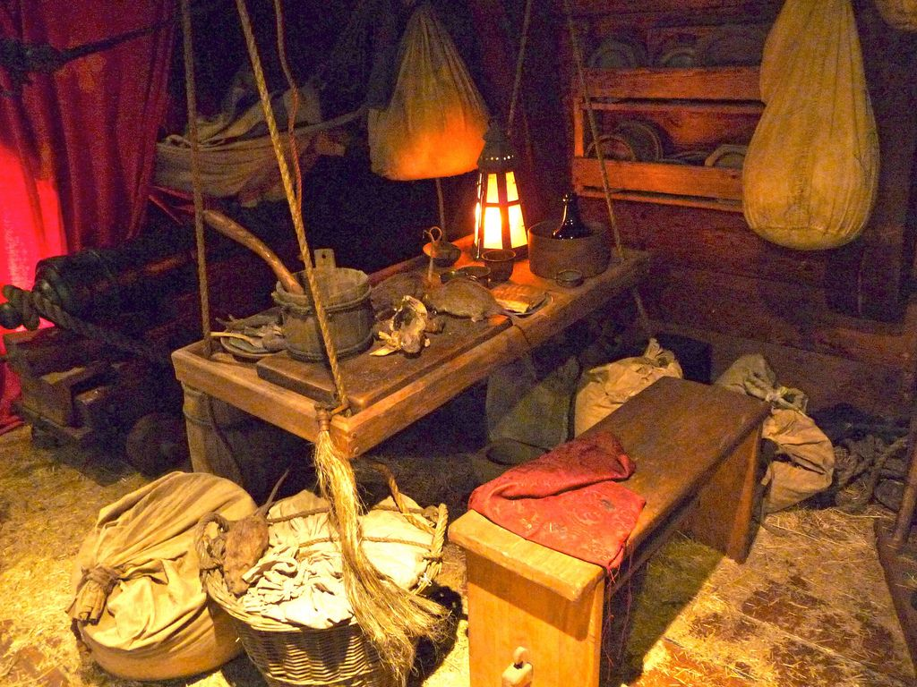 Inside A 18th Century Pirate Ship In Nassau Bahamas Pirate Ship Pirates Pirates Cove