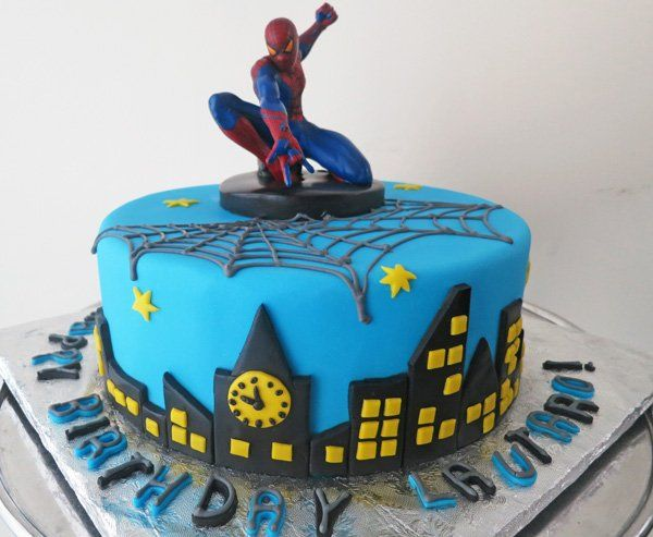 Spiderman Fondant Cake visit to grab an unforgettable cool 3D