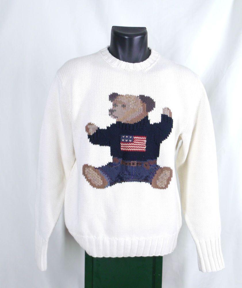 SweaterClothesClothes Ralph Polo Lauren Bear Teddy 8nwNv0m