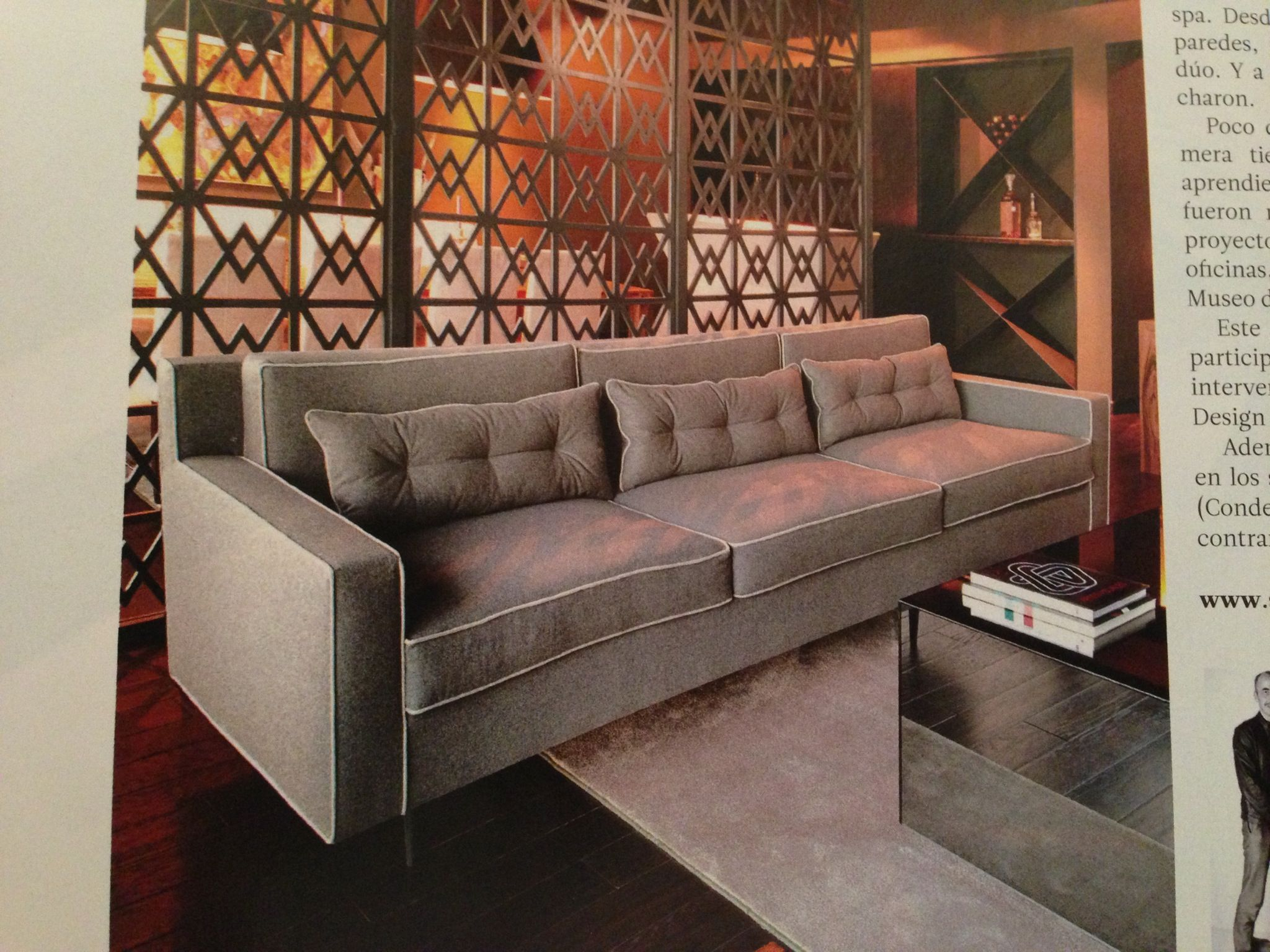 Sillon 4 Livingroom Pinterest Sillones Cosas Para El Hogar  # Muebles Piel De Durazno