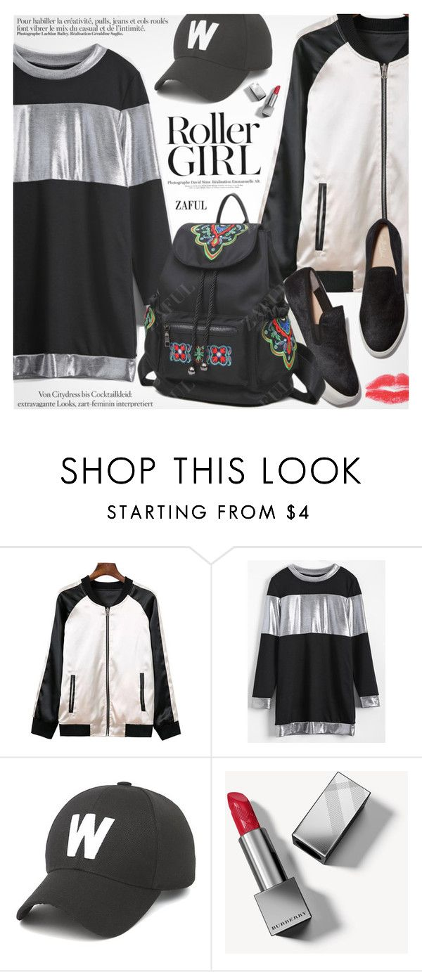 """""""Street Style"""" by pokadoll ❤ liked on Polyvore featuring Burberry, Ciel, polyvoreeditorial and polyvoreset"""