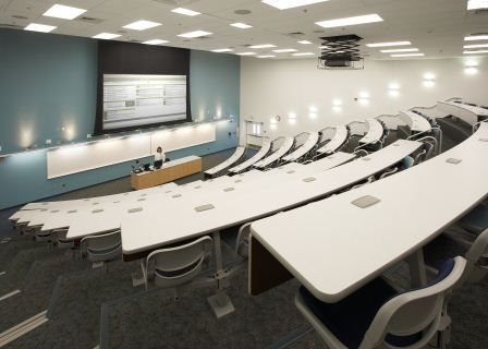 Cerritos Community College Lecture Hall In The 52000 SF Two Story Science Math Complex