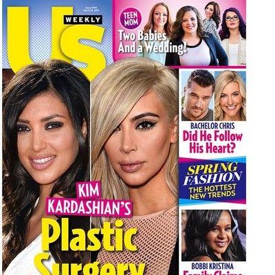 Kim Kardashian é 'acusada' de aplicar botox demais (Foto: Reprodução) - http://epoca.globo.com/colunas-e-blogs/bruno-astuto/noticia/2015/03/bkim-kardashianb-e-acusada-de-aplicar-botox-demais.html