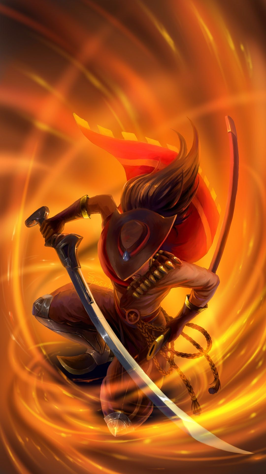 High Noon Yasuo By Suiiii League Of Legends League Of Legends
