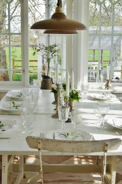 shabby, cottage 2 english, french, country decor | pinterest, Esstisch ideennn