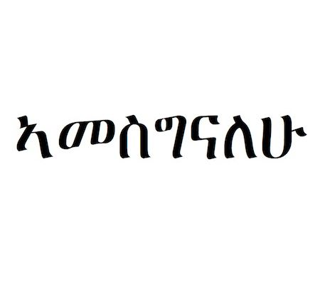 12 Amharic Words and Phrases We Use With Our Toddler
