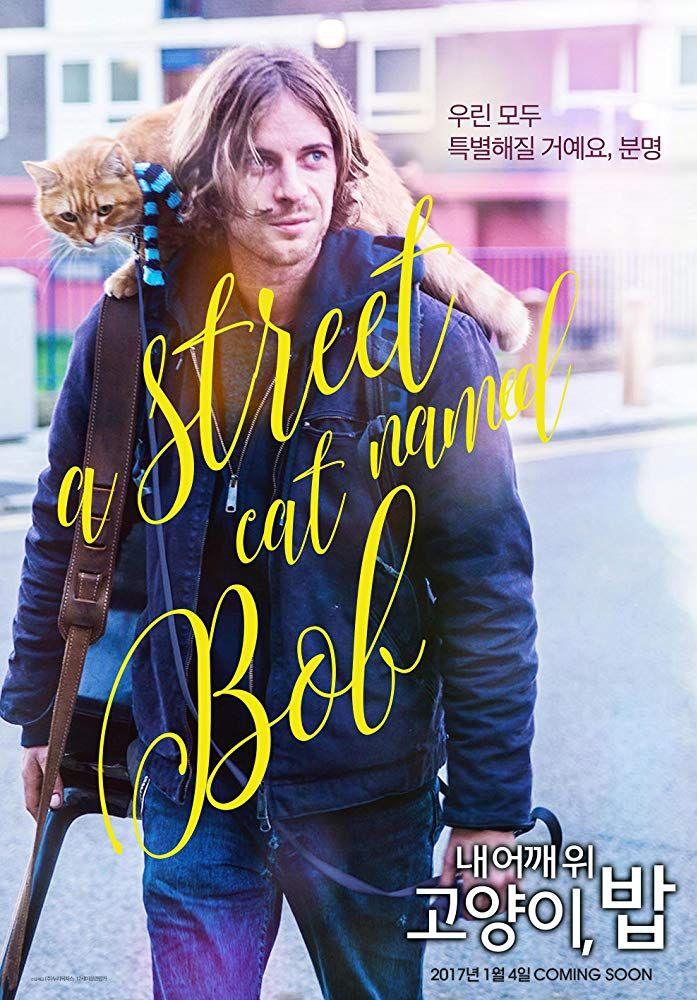 A Street Cat Named Bob (2016) Cat names, Street cat bob, Bob