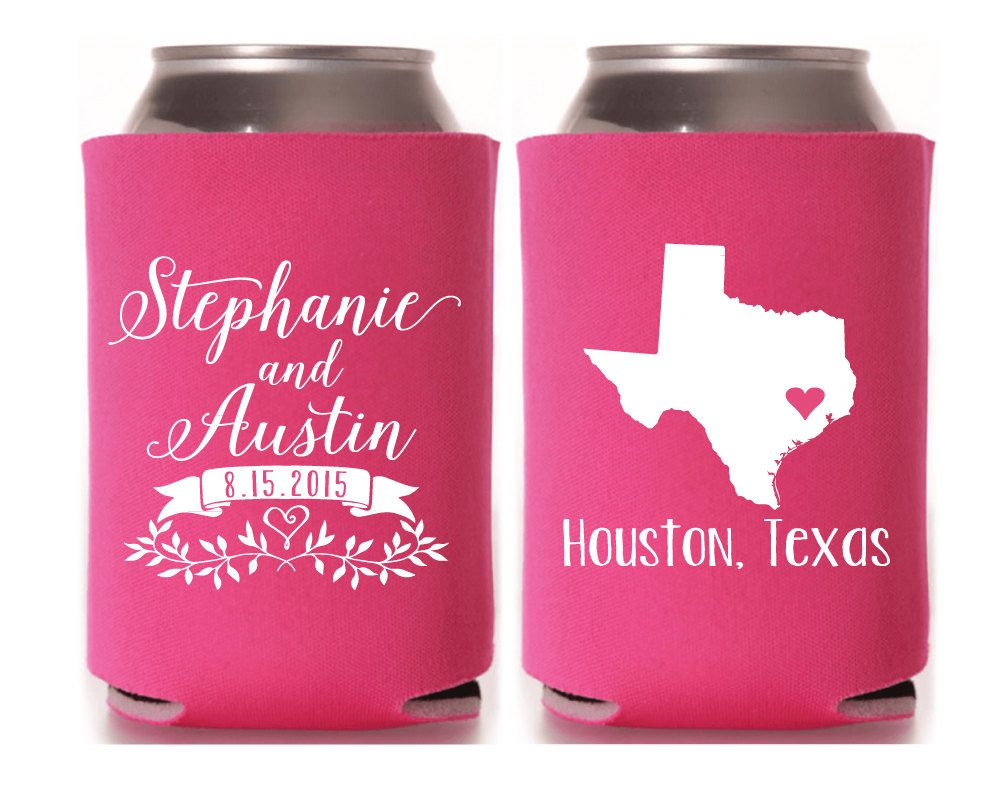 Texas State Wedding Favors, Custom State Wedding Favors, Wedding Can ...