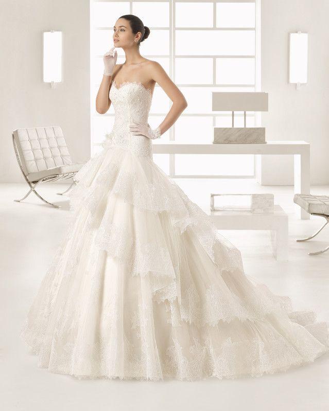 omar - 2017 bridal collection. rosa clará two. | boda papas