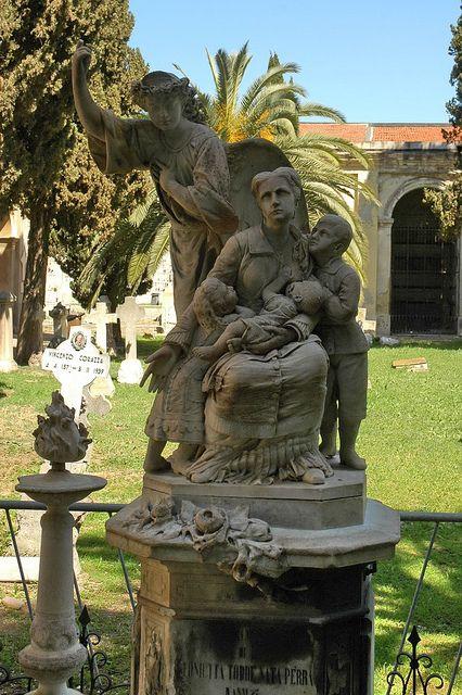 Cimitero Monumentale di Bonaria by cristianocani, via Flickr
