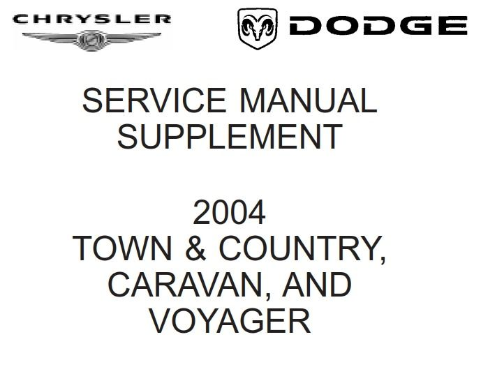 New post (Dodge / Chrysler RS Town & Country, Caravan and