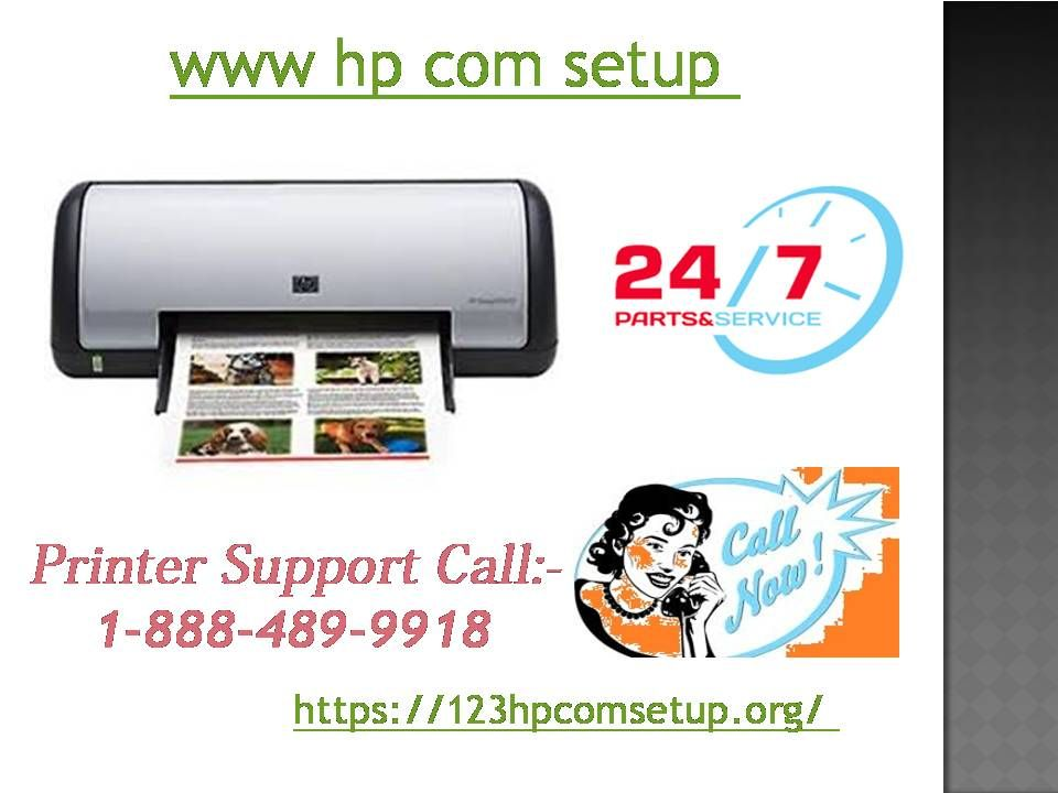 To install and download the software & driver for hp