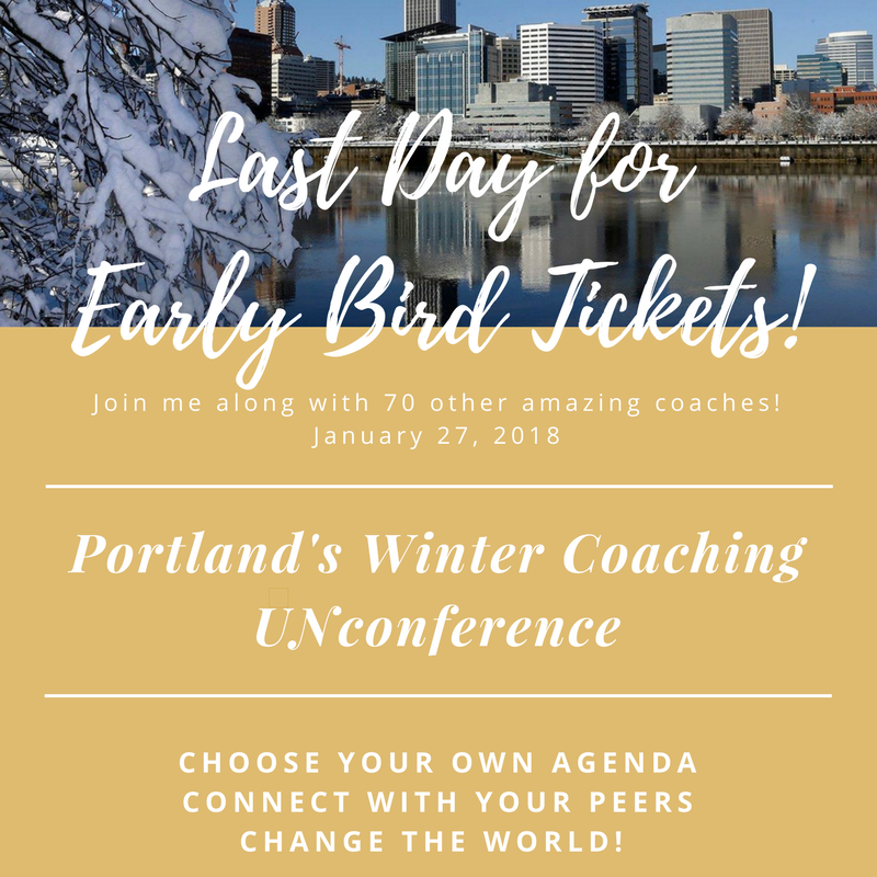Last Day For Early Bird Tickets For Portland S 2018 Coaching