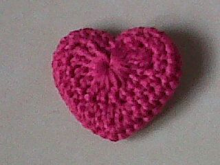 One little heart I made for Valentine Day