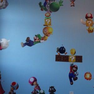 Decoração Mario Bros no quarto  http://www.jbsilva2.com.br/a-nova-decoracao-do-quarto-das-meninas/