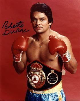 Roberto Duran Boxeador Profesional Boxeo Panamá