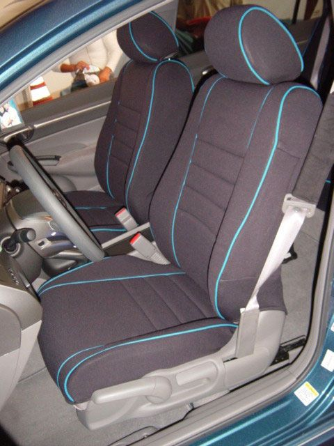 Standard Color Seat Covers Made For Honda Civic