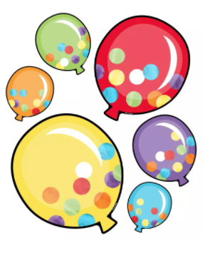 photo regarding Balloons Printable named Balloons Printable Reduce-Outs Printable Collections Summer time