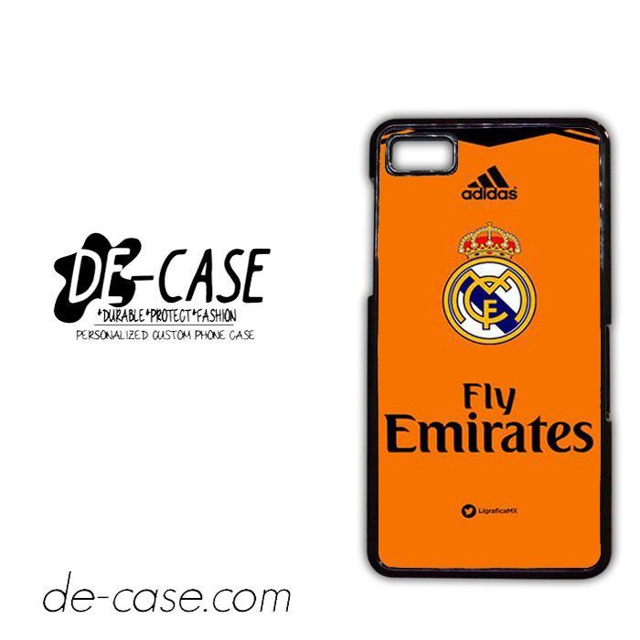 Real Madrid Jersey 3 For Blackberry Z10 Case Phone Case Gift Present YO