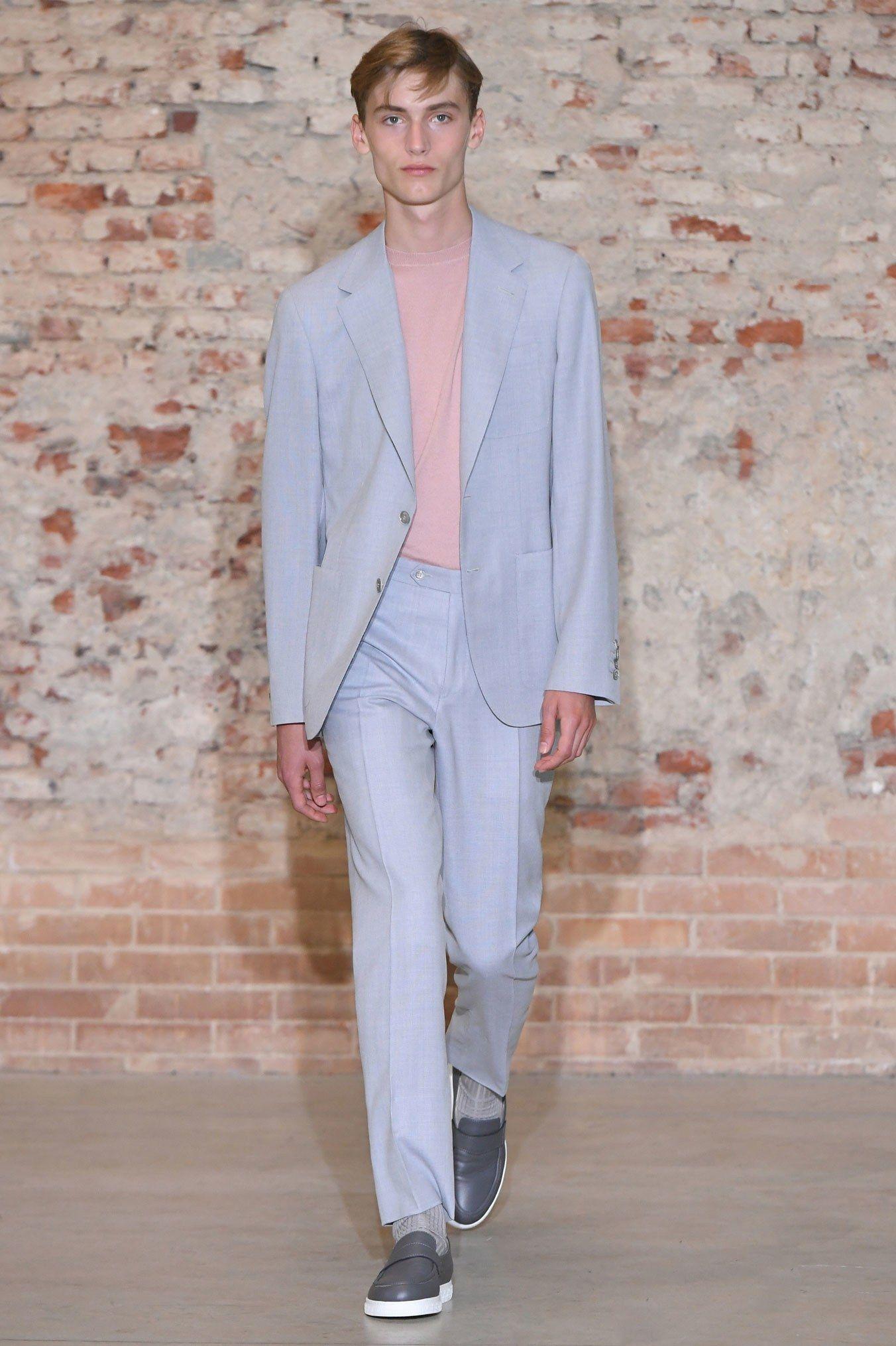 Canali Spring 2019 Menswear Milan Collection Vogue